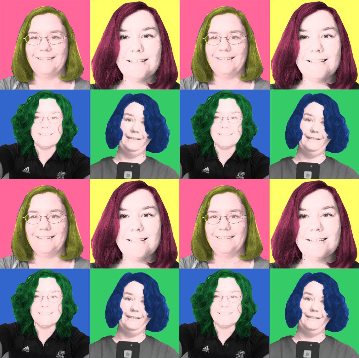 Selfie Portrait of Beth Wagoner