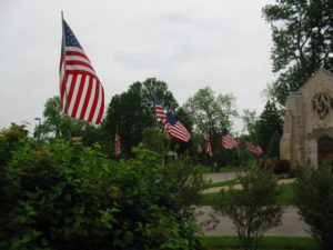 Flags of Memorial Day